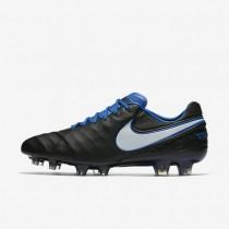 Nike zapatillas para hombre tiempo legend vi fg negro/royal juego/blanco/blanco