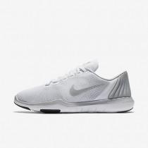 Nike zapatillas para mujer flex supreme tr 5 blanco/gris lobo/sigilo/plata metalizado