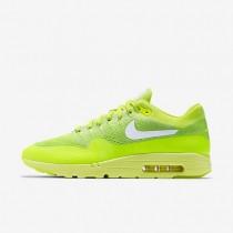 Nike zapatillas para hombre air max 1 ultra flyknit voltio/verde eléctrico/blanco