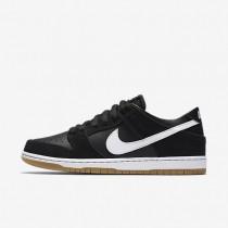 Nike zapatillas para hombre sb zoom dunk low pro negro/marrón claro goma/blanco