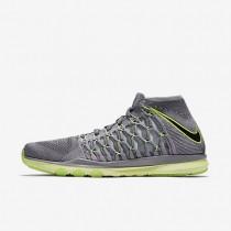 Nike zapatillas para hombre train ultrafast flyknit cr7 gris azulado/gris lobo/jade transparente/negro