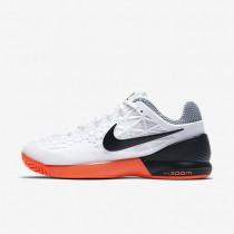 Nike zapatillas para mujer court zoom cage 2 blanco/hipernaranja/negro