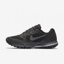 Nike zapatillas para mujer air zoom wildhorse 3 negro/gris lobo/gris azulado/gris oscuro
