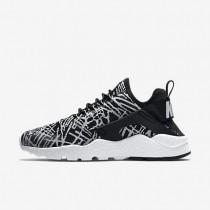 Nike zapatillas para mujer huarache ultra jacquard negro/blanco