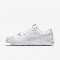 Nike zapatillas para hombre lunar force 1 g blanco/blanco/blanco