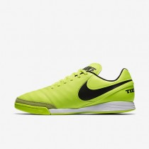 Nike zapatillas para hombre tiempo genio ii leather ic voltio/voltio/negro