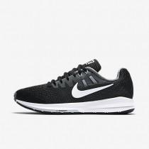Nike zapatillas para mujer air zoom structure 20 negro/gris azulado/gris lobo/blanco