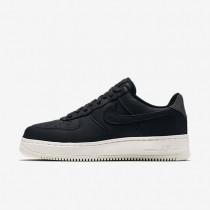 Nike zapatillas para hombre lab air force 1 low negro/negro/vela/negro