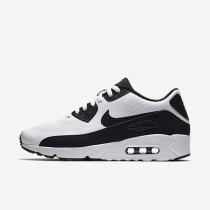 Nike zapatillas para hombre air max 90 ultra 2.0 essential blanco/blanco/negro