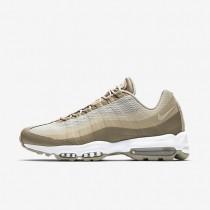 Nike zapatillas para hombre air max 95 ultra essential caqui/crudo/lino/crudo