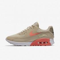Nike zapatillas para mujer air max 90 ultra 2.0 crudo/blanco/gris oscuro/lava resplandor
