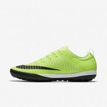 Nike zapatillas para hombre mercurialx finale ii tf lima flash/blanco/marrón claro goma/negro