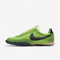 Nike zapatillas para hombre waffle racer 17 premium verde acción/verde gusto/vela/negro