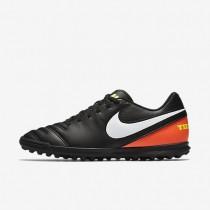 Nike zapatillas para hombre tiempo rio iii negro/hipernaranja/voltio/blanco
