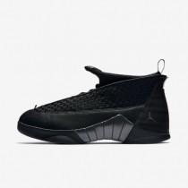 Nike zapatillas para hombre air jordan 15 retro negro/antracita/rojo universitario