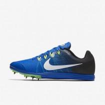 Nike zapatillas unisex zoom rival d 9 hipercobalto/negro/verde fantasma/blanco