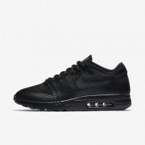 Nike zapatillas para hombre air max 1 ultra flyknit negro/antracita/negro