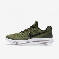 Nike zapatillas para mujer lunarepic low flyknit 2 verde palmera/verde vapor/verde puro/negro