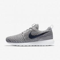 Nike zapatillas para hombre roshe flyknit carbón claro/gris lobo/gris oscuro/obsidiana oscuro