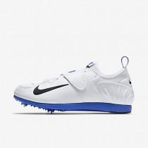 Nike zapatillas unisex zoom pole vault ii blanco/azul carrera/negro