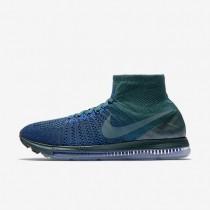 Nike zapatillas para hombre lab air zoom all out flyknit azul verdoso oscuro atómico/jade helado/azul carrera/jade helado