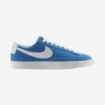 Nike zapatillas para hombre blazer low premium vintage azul foto claro/vela