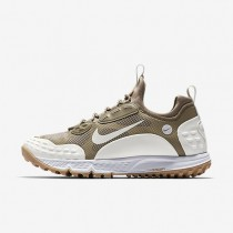Nike zapatillas para hombre lab air zoom albis '16 sp bambú/blanco/vela/marrón claro goma