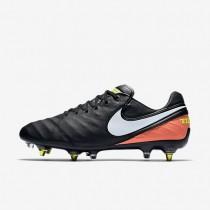 Nike zapatillas para hombre tiempo legend vi sg-pro anti clog traction negro/hipernaranja/voltio/blanco