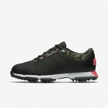 Nike zapatillas para hombre lunar fire negro/caqui militar/azul cielo vivo/rosa carrera