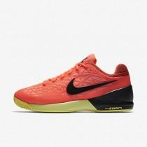Nike zapatillas para hombre court zoom cage 2 hipernaranja/lava resplandor/voltio/negro