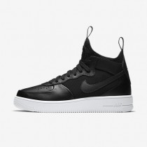 Nike zapatillas para hombre air force 1 ultraforce mid negro/blanco/negro