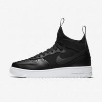 Nike zapatillas para hombre air force 1 ultraforce mid negro/blanco/negro