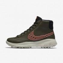 Nike zapatillas para mujer blazer caqui militar/lava resplandor/hueso claro/negro