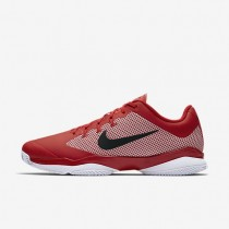 Nike zapatillas para hombre court air zoom ultra clay rojo universitario/blanco/negro