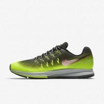 Nike zapatillas para hombre air zoom pegasus 33 shield caqui militar/voltio/negro/bronce rojo metálico