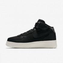 Nike zapatillas para hombre lab air force 1 mid negro/negro/vela/negro