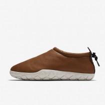 Nike zapatillas para hombre air moc bomber coñac/marrón terciopelo/hueso claro