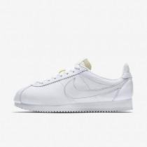 Nike zapatillas para mujer classic cortez leather premium blanco/blanco
