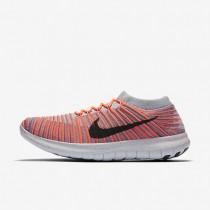 Nike zapatillas para mujer free rn motion flyknit mango brillante/morado hierro/gris lobo/negro