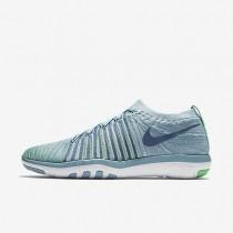 Nike zapatillas para mujer free transform flyknit azul mica/verde eléctrico/voltio/niebla océano