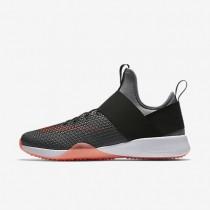 Nike zapatillas para mujer air zoom strong gris azulado/negro/carmesí total