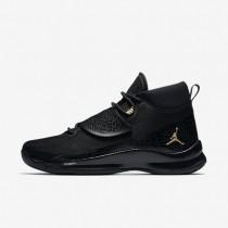 Nike zapatillas para hombre jordan super.fly 5 po negro/negro/antracita/oro metalizado