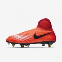 Nike zapatillas para hombre magista obra sg-pro anti clog traction carmesí total/rojo universitario/mango brillante/negro