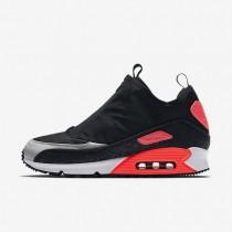 Nike zapatillas para hombre air max 90 utility negro/gris neutro/carmesí brillante/gris azulado
