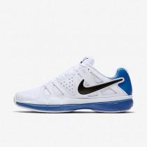 Nike zapatillas para hombre court air vapor advantage blanco/azul foto claro/negro