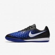 Nike zapatillas para hombre magista onda ii ic negro/azul extraordinario/tinte azul/blanco