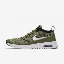 Nike zapatillas para mujer air max thea flyknit verde palmera/negro/blanco