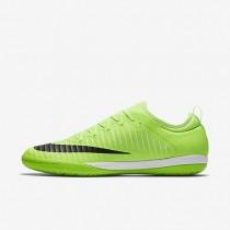 Nike zapatillas para hombre mercurialx finale ii ic lima flash/blanco/marrón claro goma/negro