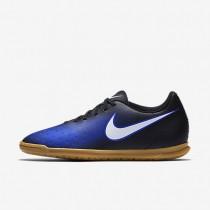 Nike zapatillas para hombre magista ola ii ic negro/azul extraordinario/hipernaranja/blanco