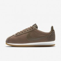 Nike zapatillas para mujer classic cortez leather premium pelaje pardo/hueso claro/vela/pelaje pardo